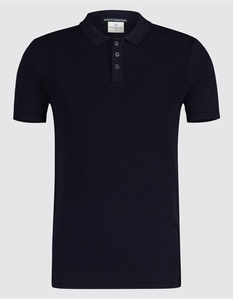 Blue Industry Polo Shirt