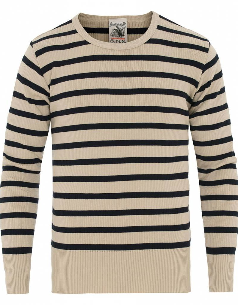 S.N.S. Herning Stripes Crew Neck Sweater