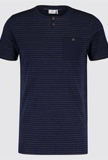 Blue Industry Striped T-Shirt
