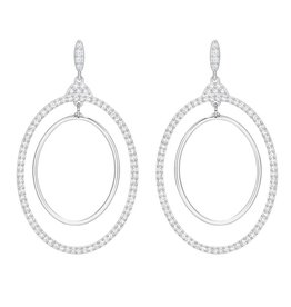 Swarovski Gilberte Hoop Earrings