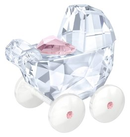 Swarovski Baby Carriage (Pink)