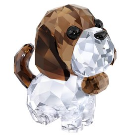 Swarovski Bernie the Saint Bernard Puppy