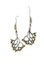 Keith Jack Tree of Life Earrings SS/18KY