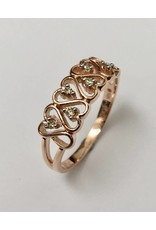 Diamond Heart Ring 10KR