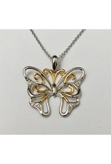 Butteryfly Diamond Pendant 10KWY