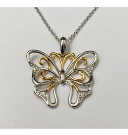 Butteryfly Diamond Pendant