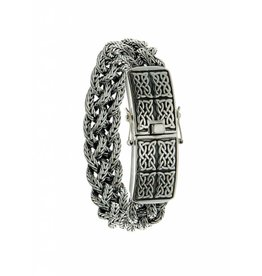 Keith Jack Norse Forge Dragon Weave Bracelet