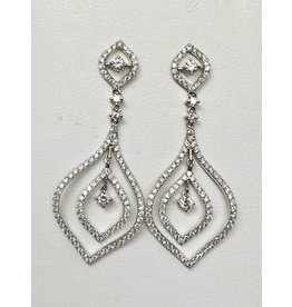 Multi Dangle Diamond Earrings