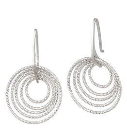 Frederic Duclos 3D Circle Earrings
