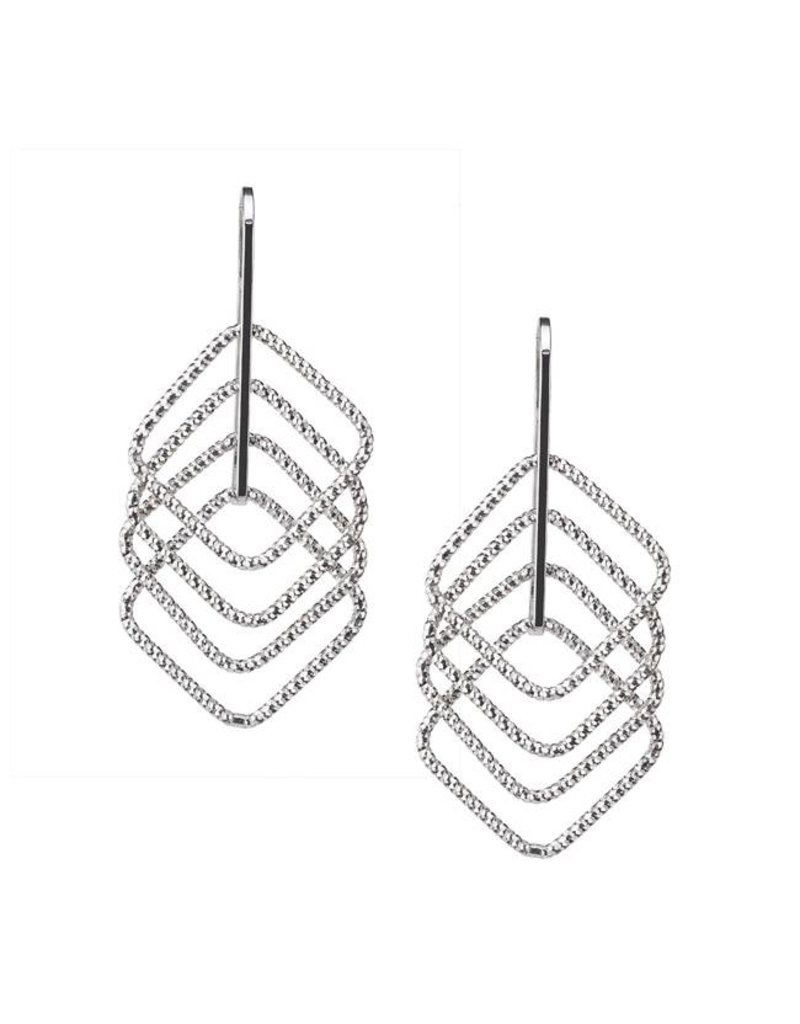 Frederic Duclos Square Up Earrings SS