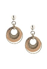 Frederic Duclos Luminescent Circle Earrings SS/RGP
