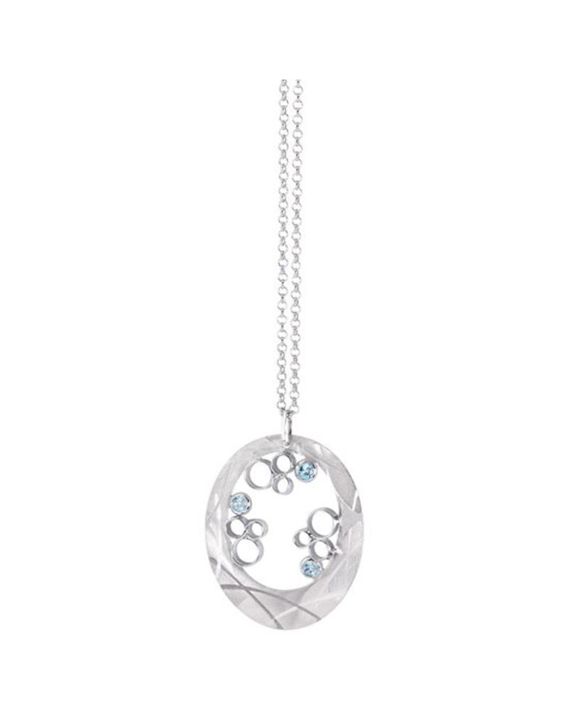 Frederic Duclos Mosaic Cluster Necklace SS