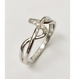 Ladies Diamond Ring Freeform