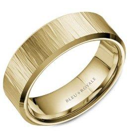 Crown Ring Textured (Bleu Royale)