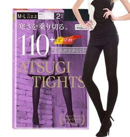 Atsugi厚木發熱打底連褲襪2入 (黑色110D M-L)