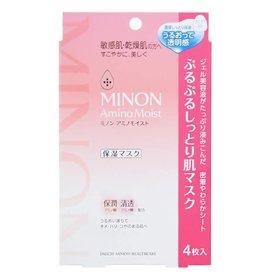 MINON Minon 氨基酸敏感肌用保濕面膜 4Pc