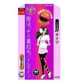 女的欲望發熱壓力保暖加絨瘦腿連褲襪極厚(黑色200D L-LL)