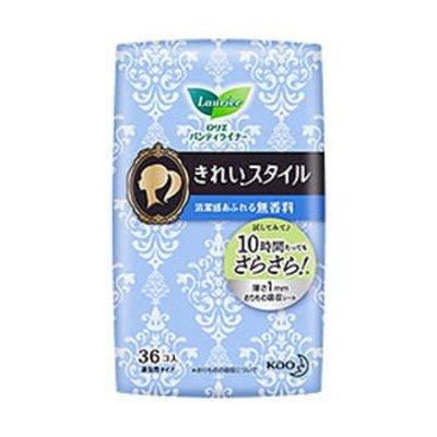 花王樂而雅超薄透氣棉柔衛生護墊36片