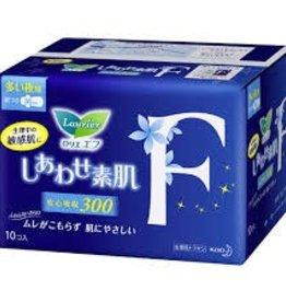 花王樂而雅超安心f系列衛生巾夜用護翼型 30Cm 10片