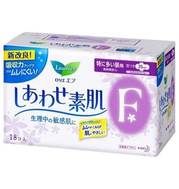 花王樂而雅f系列超安心透氣日用衛生巾護翼型 25Cm 18片