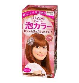 花王Prettia泡沫染髮膏珠光粉