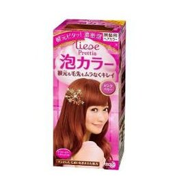 花王Prettia泡沫染髮膏浆果粉