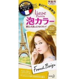 花王Prettia泡沫染髮膏法國米色