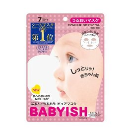 Kose Kose高絲 Babyish嬰兒肌保濕面膜
