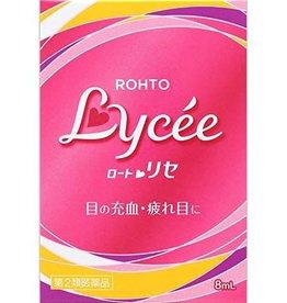 Rohto Lycee 小紅花抗疲勞充血去紅血絲眼藥水(裸眼用)