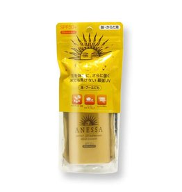Shiseido Shiseido Anessa安耐曬金瓶防水型防曬霜