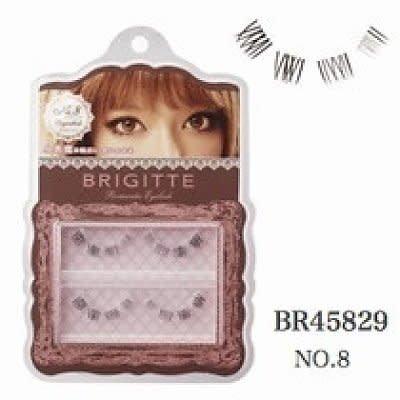 Brigitte Brigitte 憧憬美瞳假睫毛 08小惡魔重點-下睫毛用
