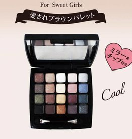 Dear Laura Dear Laura 20 Colors 眼影盤 06 Ash Brown