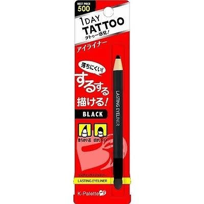K- Palette K- Palette 1 Day Tattoo 持久雙頭眼線筆可削式01黑色