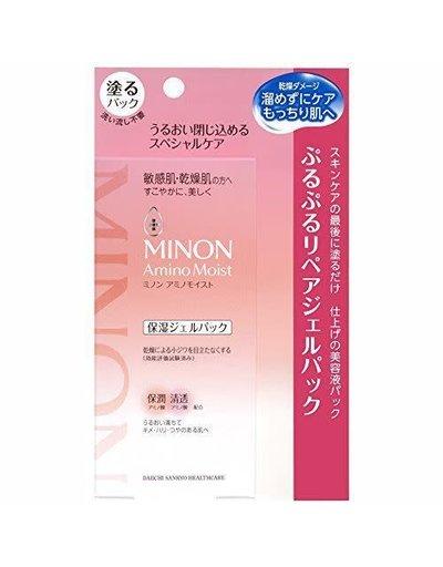 MINON Minon 氨基酸敏感肌用保濕面膜 (水洗型)