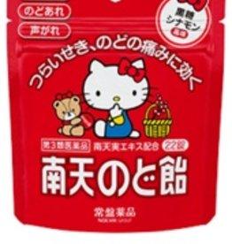 Hello Kitty 南天限定潤喉糖 黑糖味