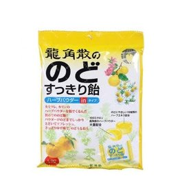 Others 龍角散潤喉糖柚子味80g
