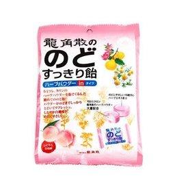 Others 龍角散化痰止咳潤喉糖白桃味80g