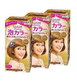 花王Prettia泡沫染髮膏奶茶棕