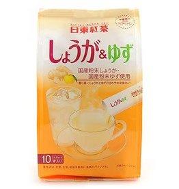 日東紅茶 生薑柚子味 10條