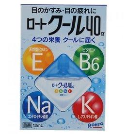 Rohto Rotho 40а 營養型抗疲勞舒緩眼藥水12ml 清涼型