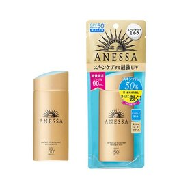 Shiseido Shiseido Anessa安耐曬金瓶防水型防曬霜限定90ml