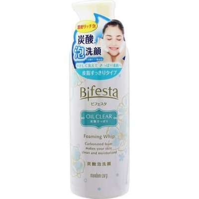 Bifesta 碳酸泡沫慕斯洗面奶 清爽型