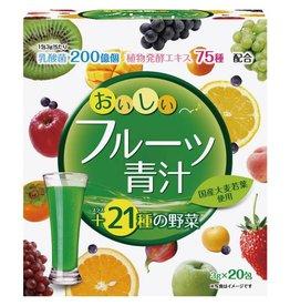 Yuwa 青汁+21種野菜 20包