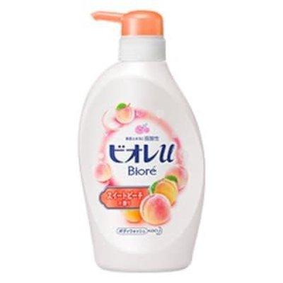Biore Biore弱酸性白桃味沐浴露530ml