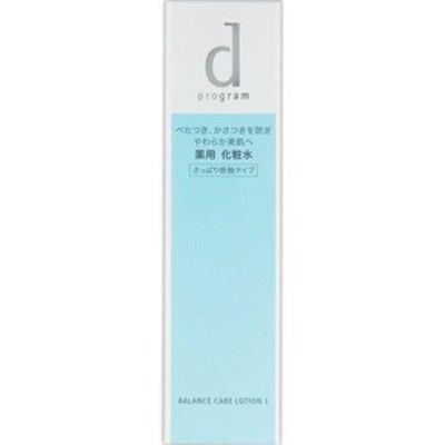Shiseido 資生堂 D Program 敏感肌調理型水油平衡保溼化妝水125ML 1號清爽型