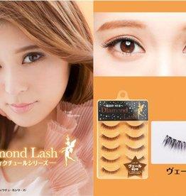 Diamond Lash 眼尾加長假睫毛 DL54044 橘盒