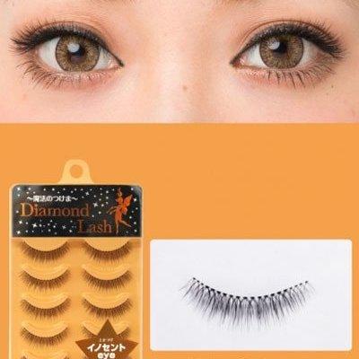 Diamond Lash 自然濃密假睫毛 DL54595 橘盒
