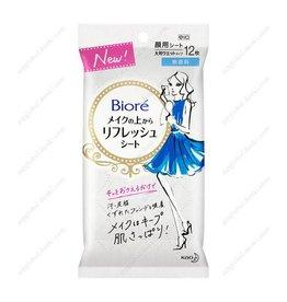 Biore Biore 定妝控油濕紙12枚入 無香