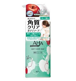 Aha 果酸深層清潔可卸身體防曬400ML