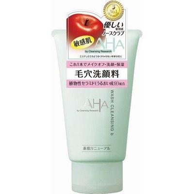 BCL Aha 深層清潔去黑頭收縮毛孔洗面奶 敏感肌適用